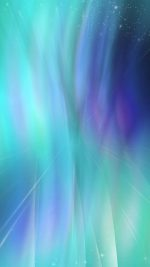 Fantasy Green Blue Abstract Pattern