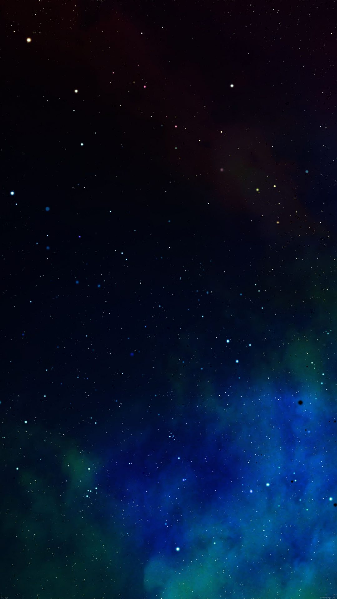 Frontier Iphone Space Colorful Star Nebula