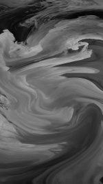 Hurricane Swirl Abstract Art Paint Dark Bw Pattern