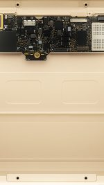 Inside Apple Mackbook Gold Art