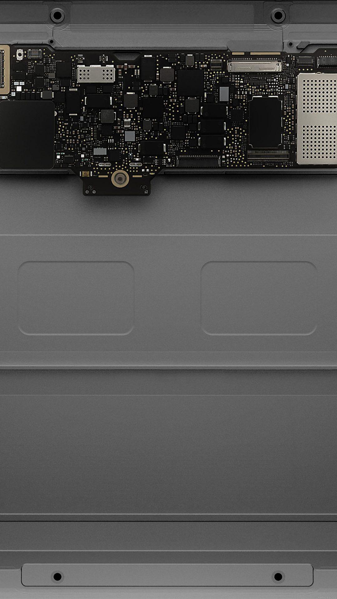 Inside Apple Mackbook Slate Gray Art