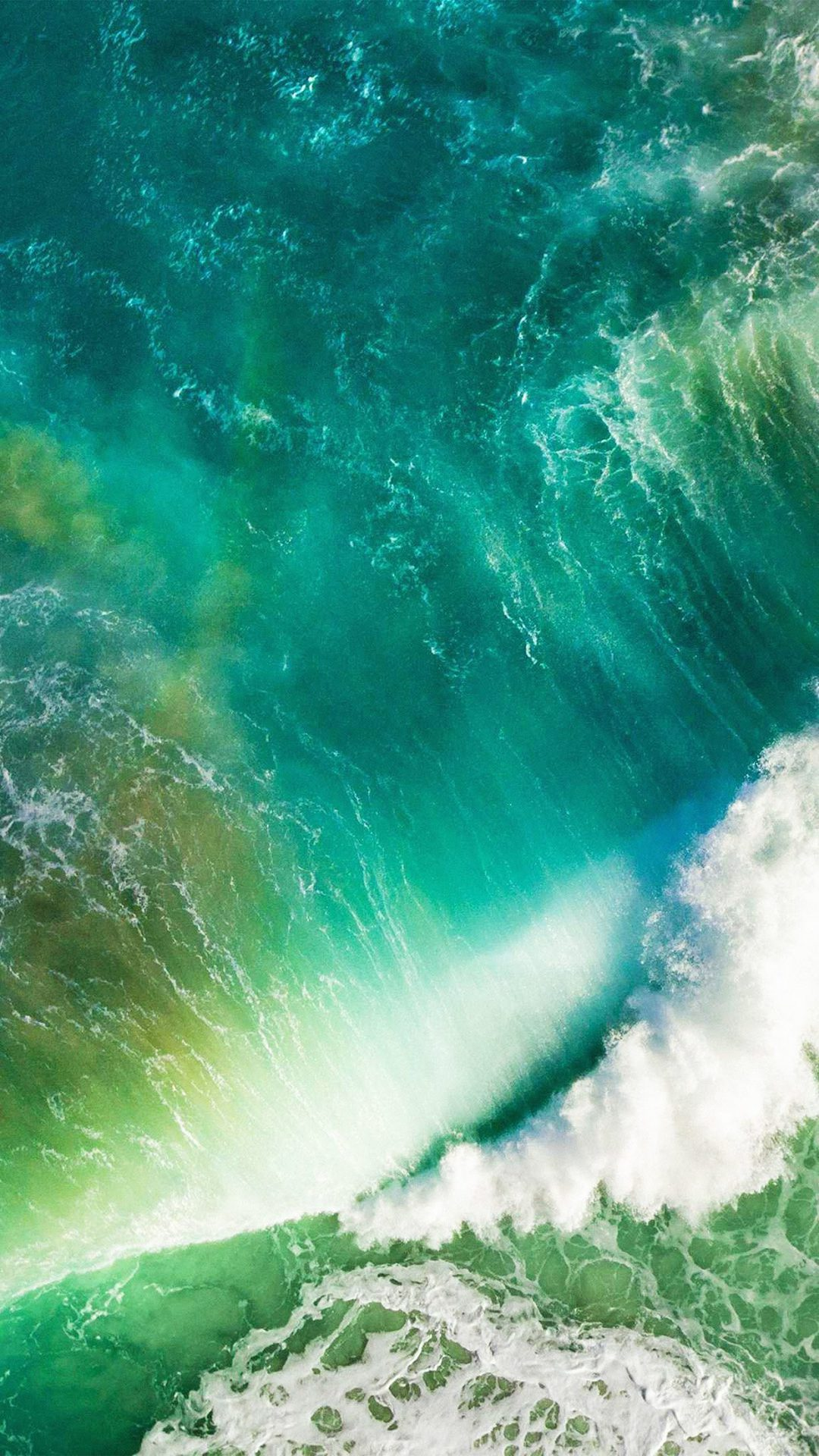 Ios10 Apple Iphone7 Wave Waterfall Official Art Illustration