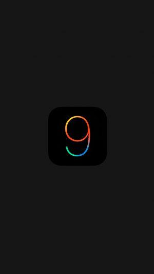 Ios9 Dark Logo Apple New Minimal Black Minimal
