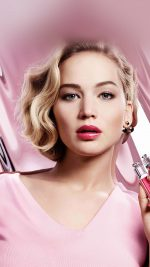 Jennifer Lawrence Pink Model Celebrity Lips