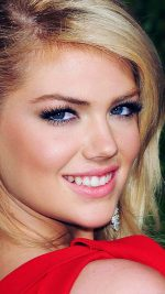 Kate Upton Red Dress Girl Face
