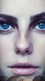 Kaya Scodelario Face Girl
