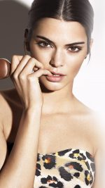 Kendall Jenner Magnum Ice Cream Model