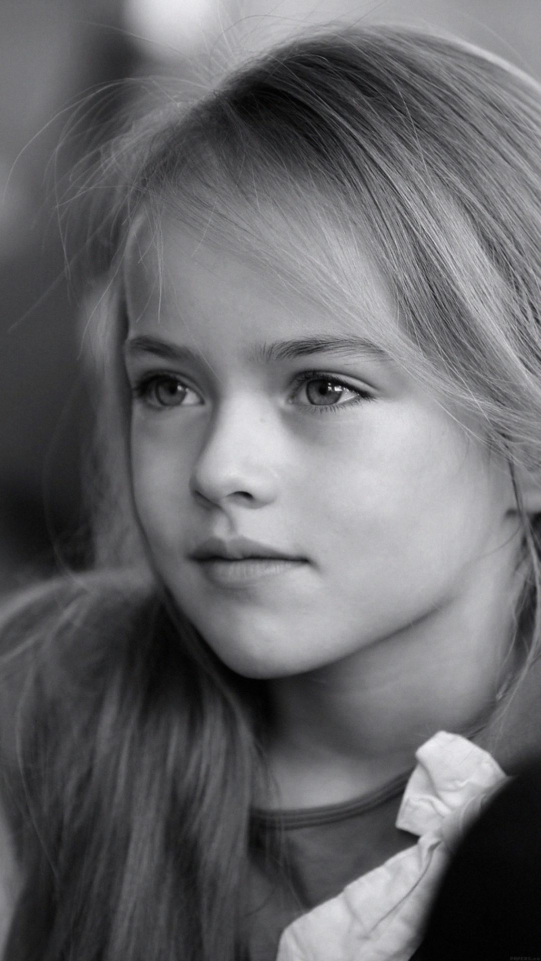 Kristina Pimenova Cute Girl Model Bw Dark