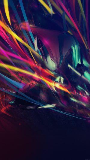 Line Abstract Art Dark Pattern