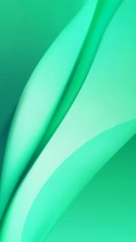 Line Art Abstract Green Pattern