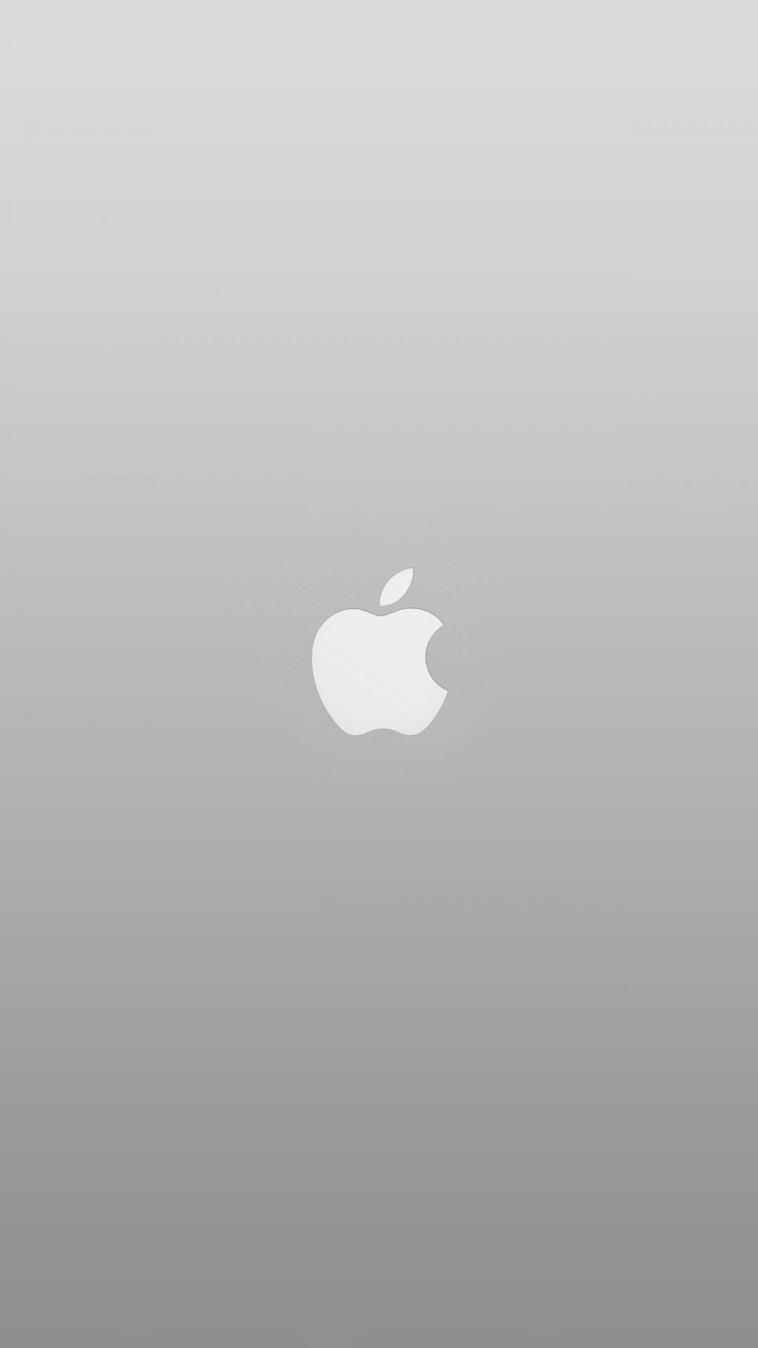 Logo Apple White Minimal Illustration Art Color Gray