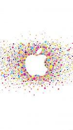 Logo Art Apple Rainbow Minimal