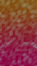 Low Poly Hot Red Abstract Fun Pattern