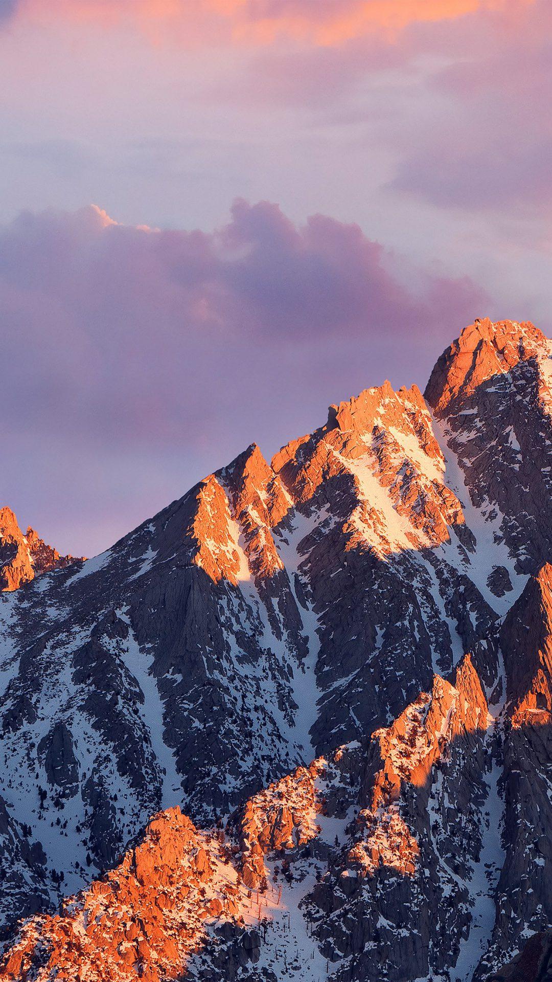 Macos Sierra Apple Art Background Wwdc Mountain