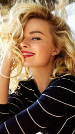 Margot Robbie Smile Celebrity Photo