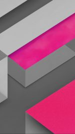 Marshmallow Android Hotpink Triangle Pattern
