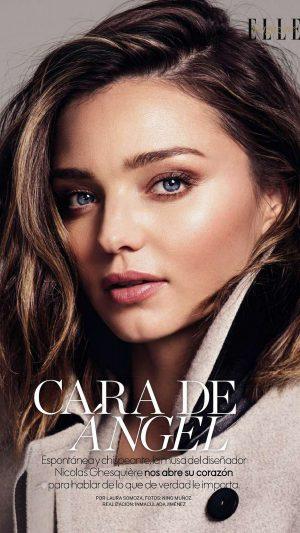 Miranda Kerr Magazine Face Girl Model