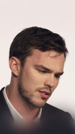 Actor Nicholas Hoult attends a press conference for the film Mad Max: Fury Road at the 68th international film festival, Cannes, southern France, Thursday, May 14, 2015. (AP Photo/Lionel Cironneau)