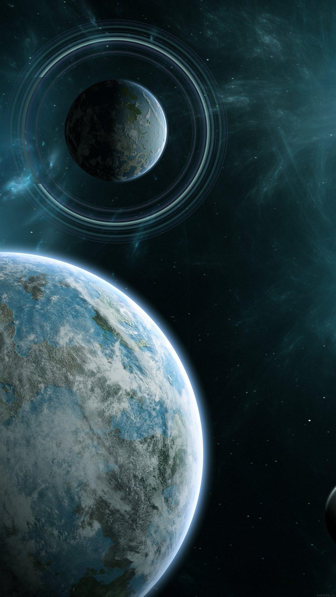 Planet Space Star Odyssey Art