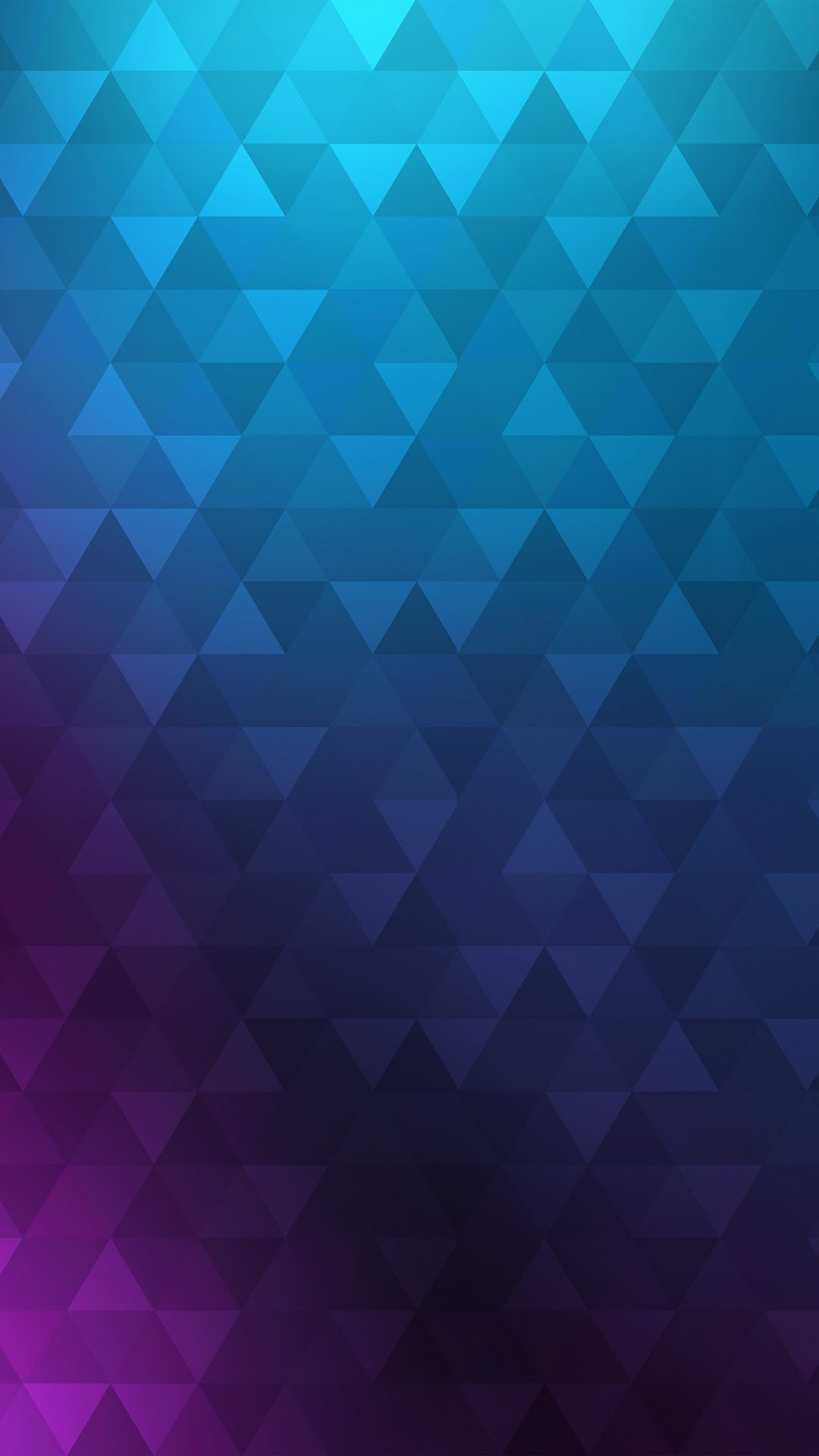 Poly Blue Purple Abstract Pattern