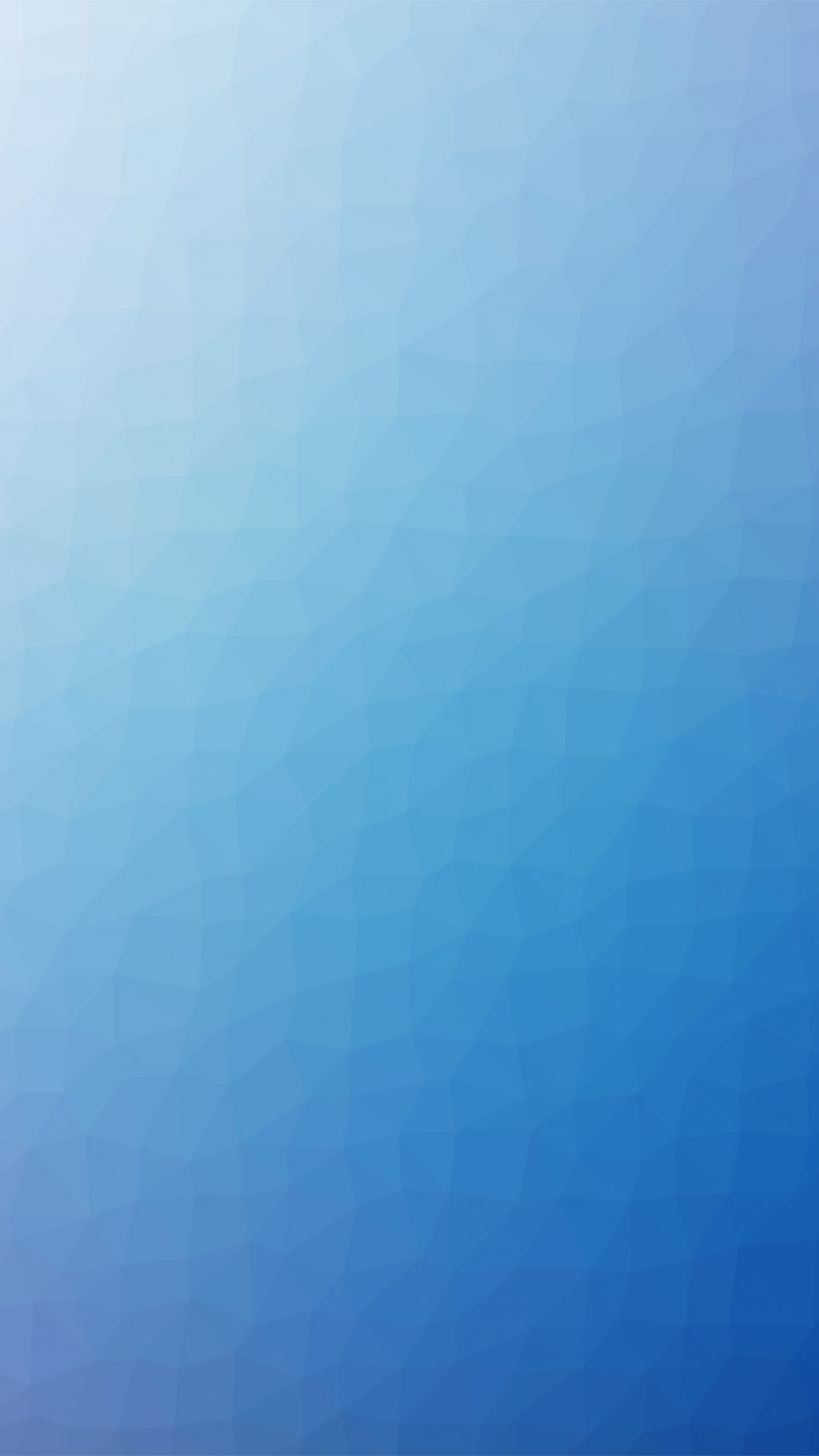 Polygon Art Blue Abstract Pattern