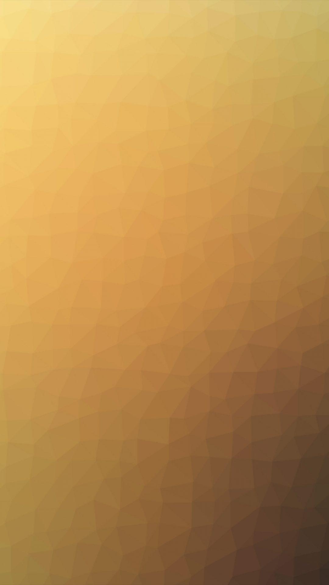 Polygon Art Yellow Abstract Pattern