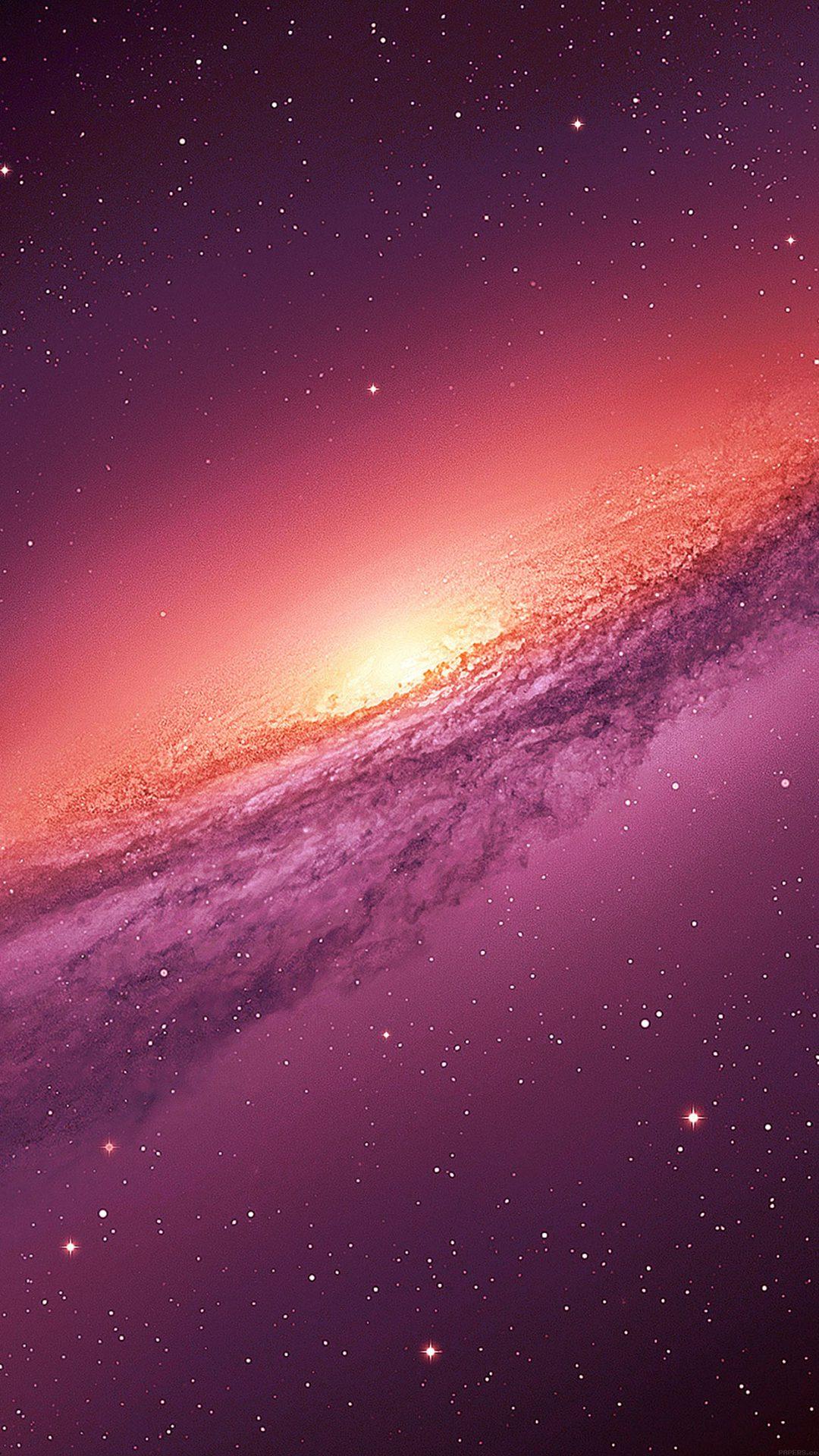 Purple Galaxy Space Nature
