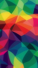 Rainbow Abstract Colors Pastel Dark Pattern