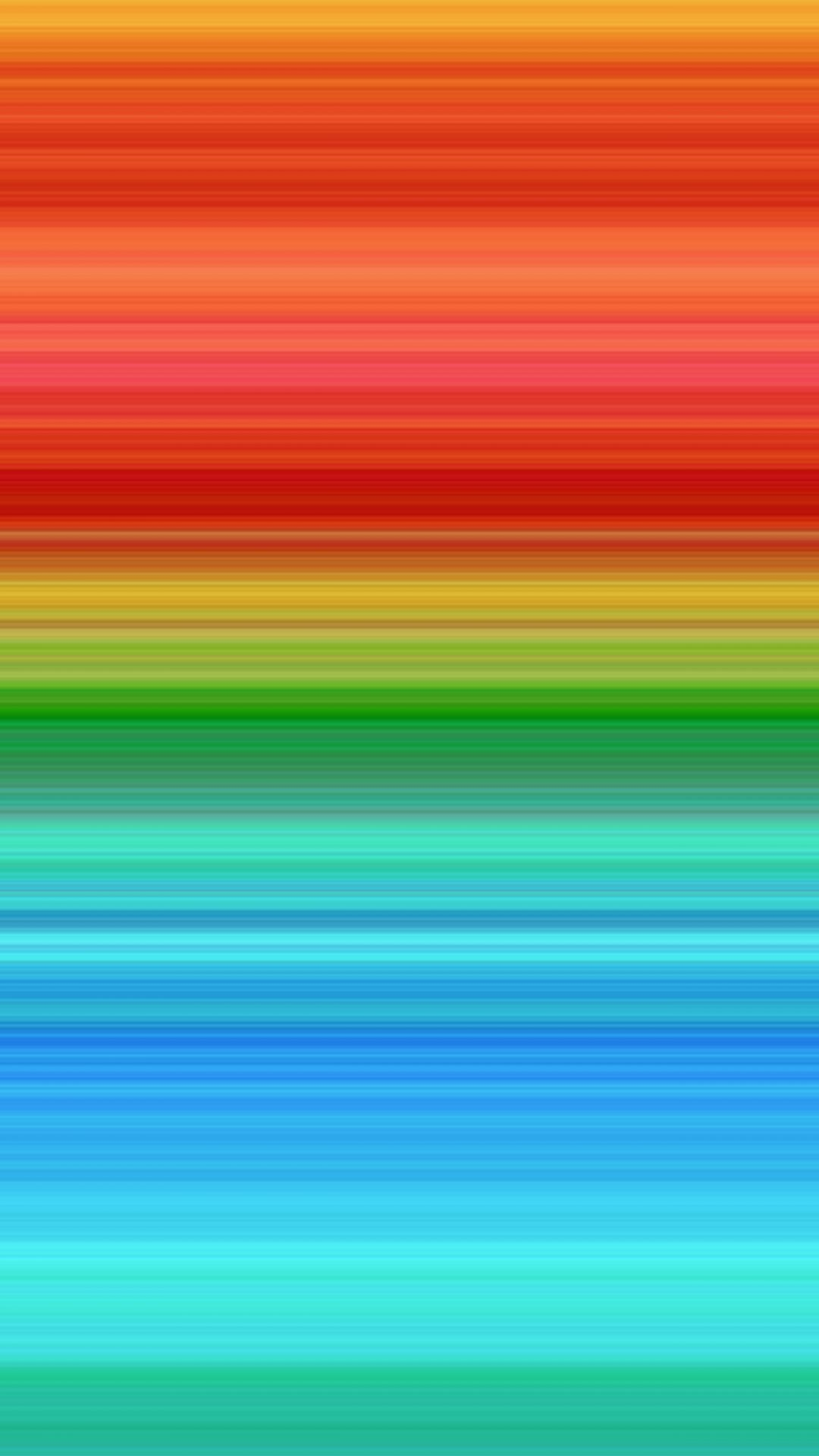 Rainbow Line Abstract Pattern