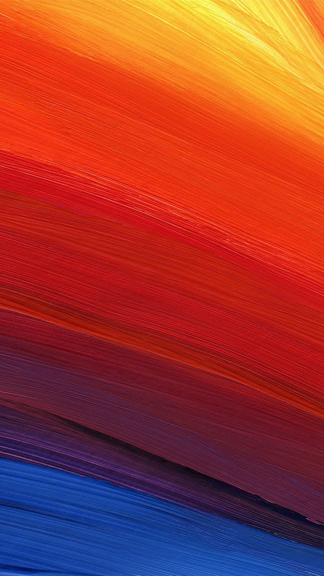 Rainbow Swirl Line Abstract Pattern