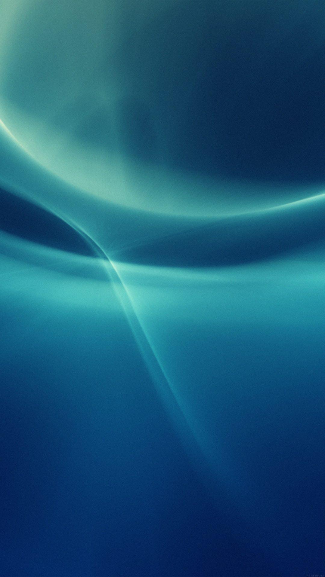 Ribbon Abstract Art Blue Pattern