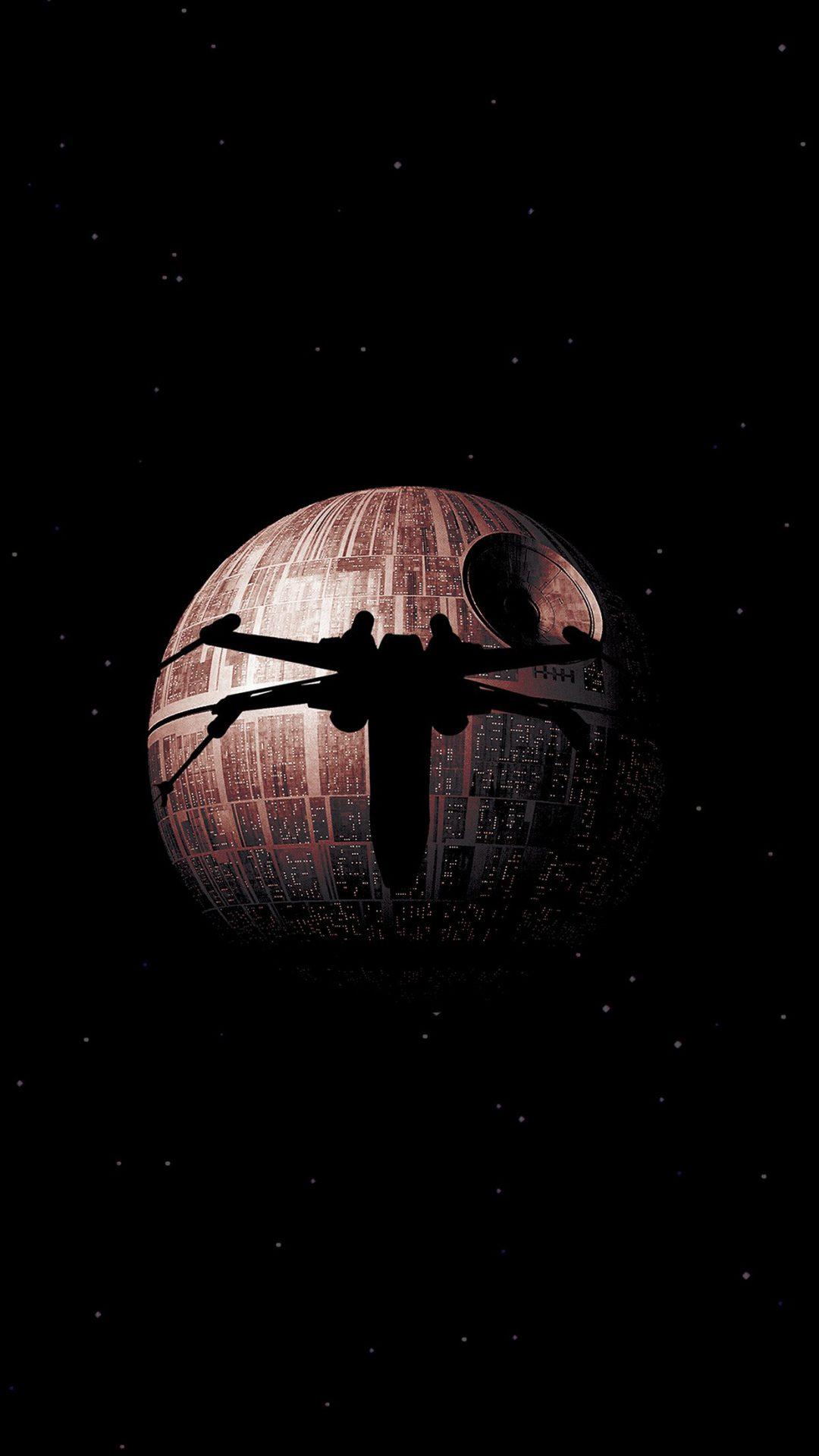 Rogue One Dark Space Starwars Poster Illustration Art