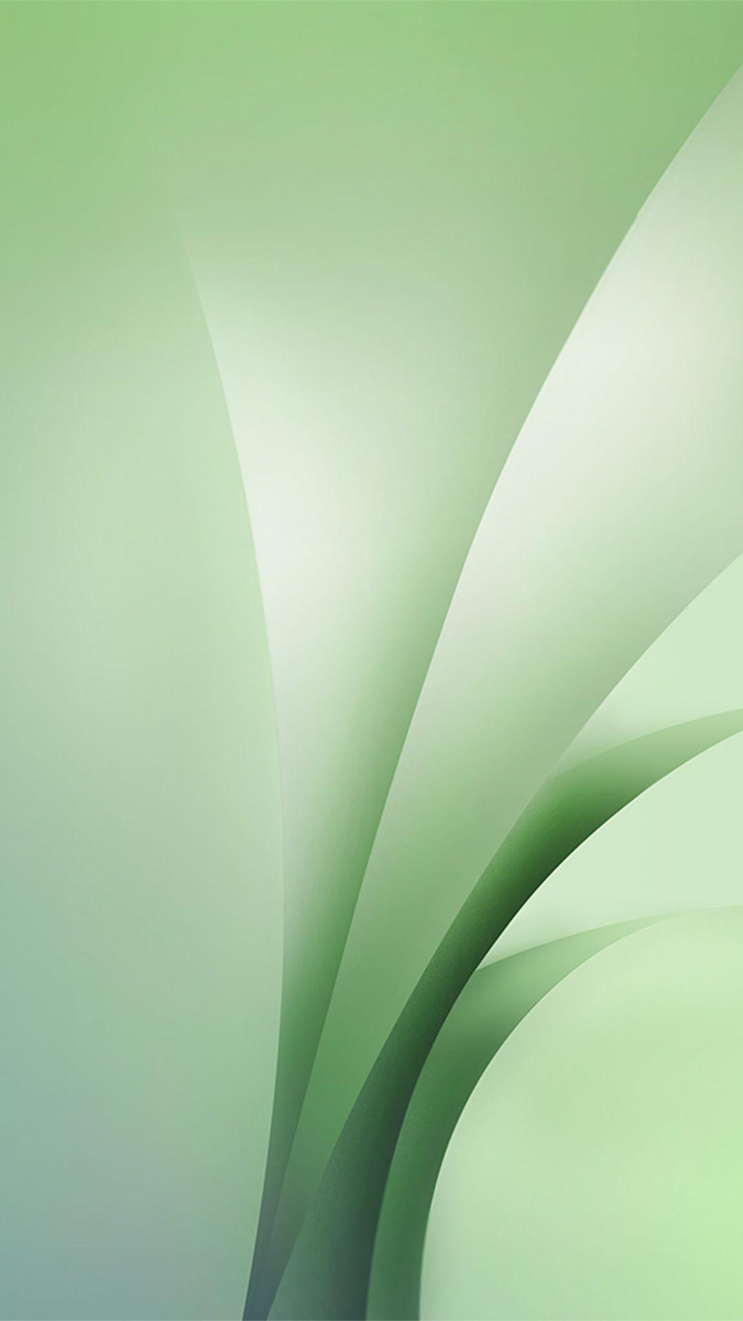 Samsung Galaxy Abstract Green Pattern