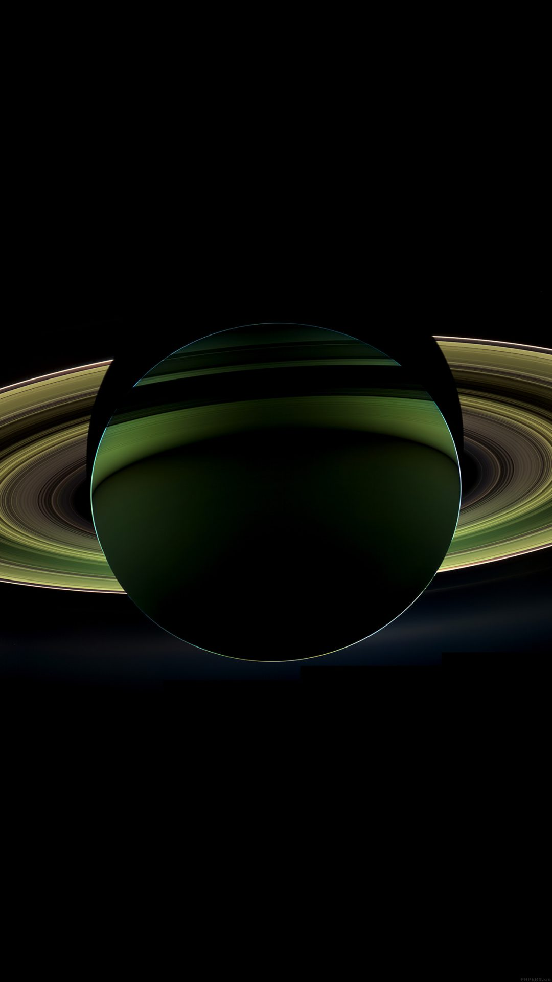 Saturn Far Space Nature Dark