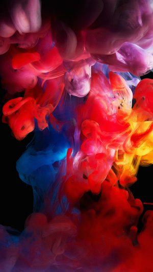 Smoke Color Dark Abstract Fog Art Illust