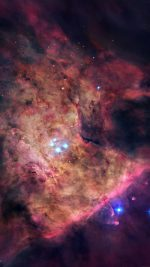 Space Andromeda Blue Galaxy Star Art