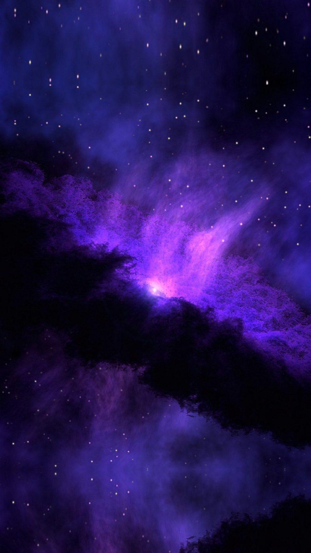 Space Blue Nebula Star Awesome