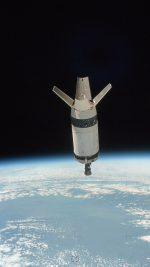 Space Blue Odyssey Shuttle Earth
