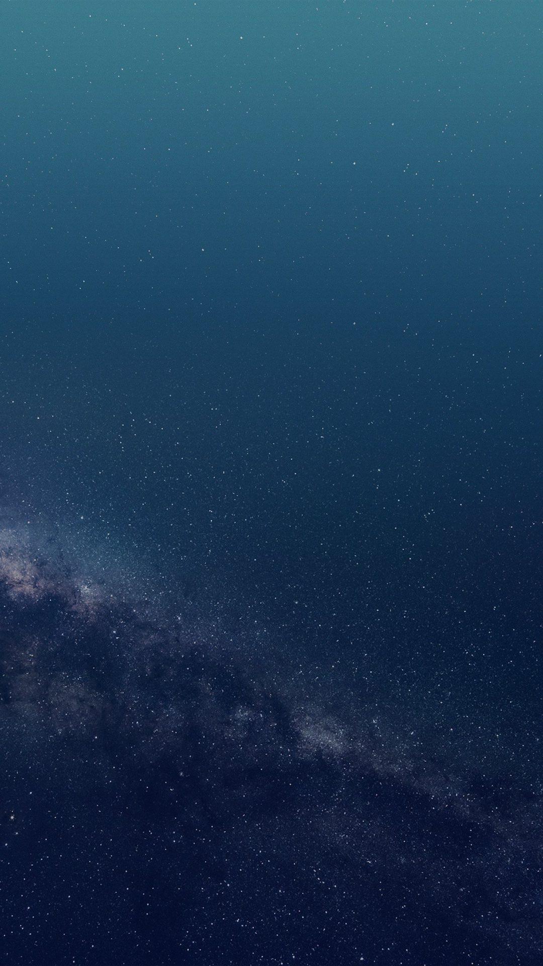 Space Blue Star Universe Pattern