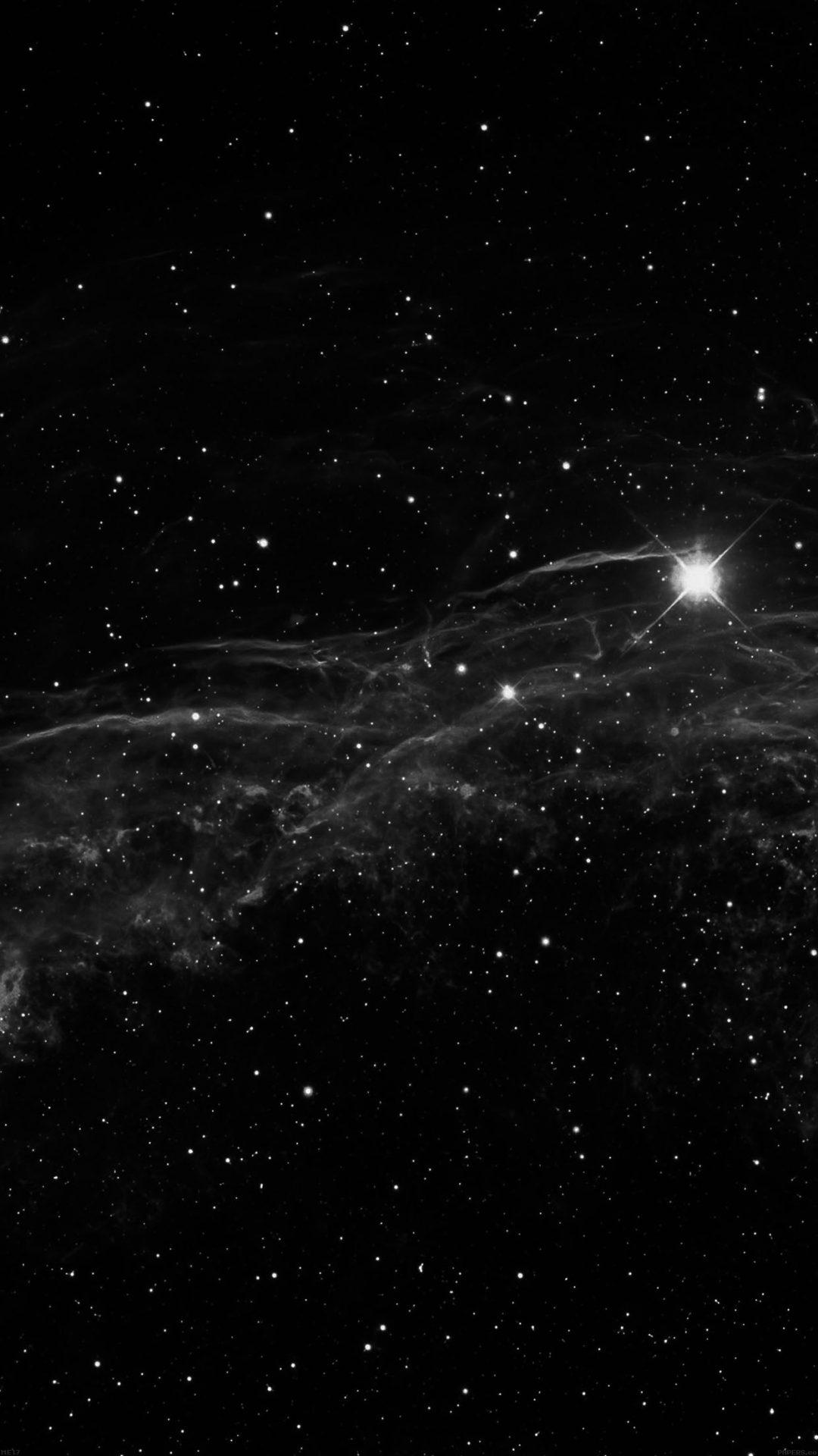 Space Canvas Dark Stars With Love