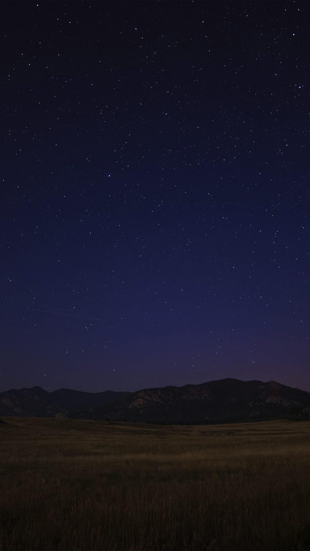 Space Dark Star Starry Night