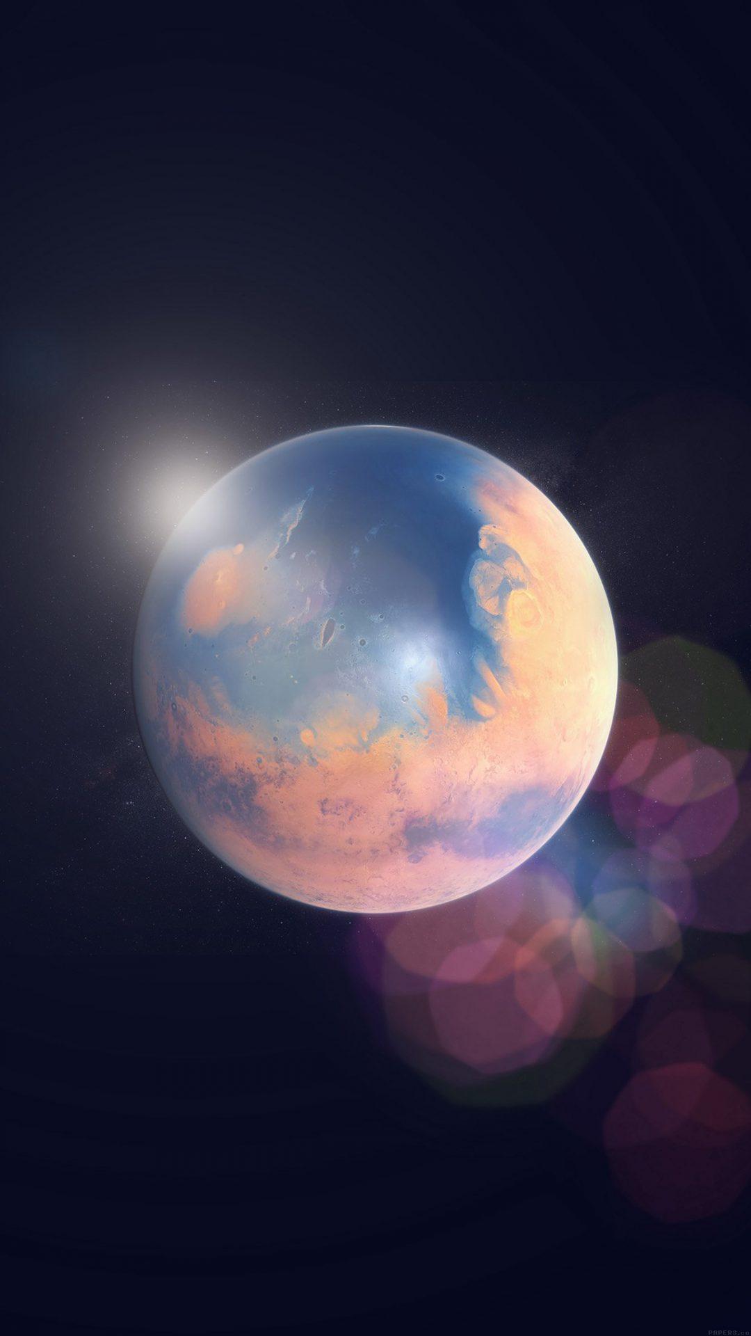 Space Earth Planet Art Illust Flare