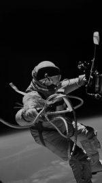 Space Instagram Photo Astronaut Black