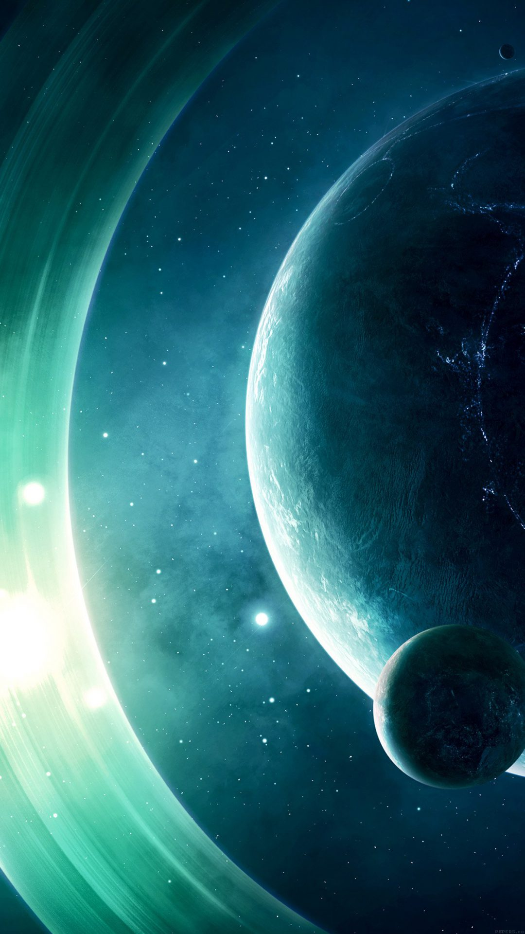 Space Odyssey Saturn Dark Art Nature