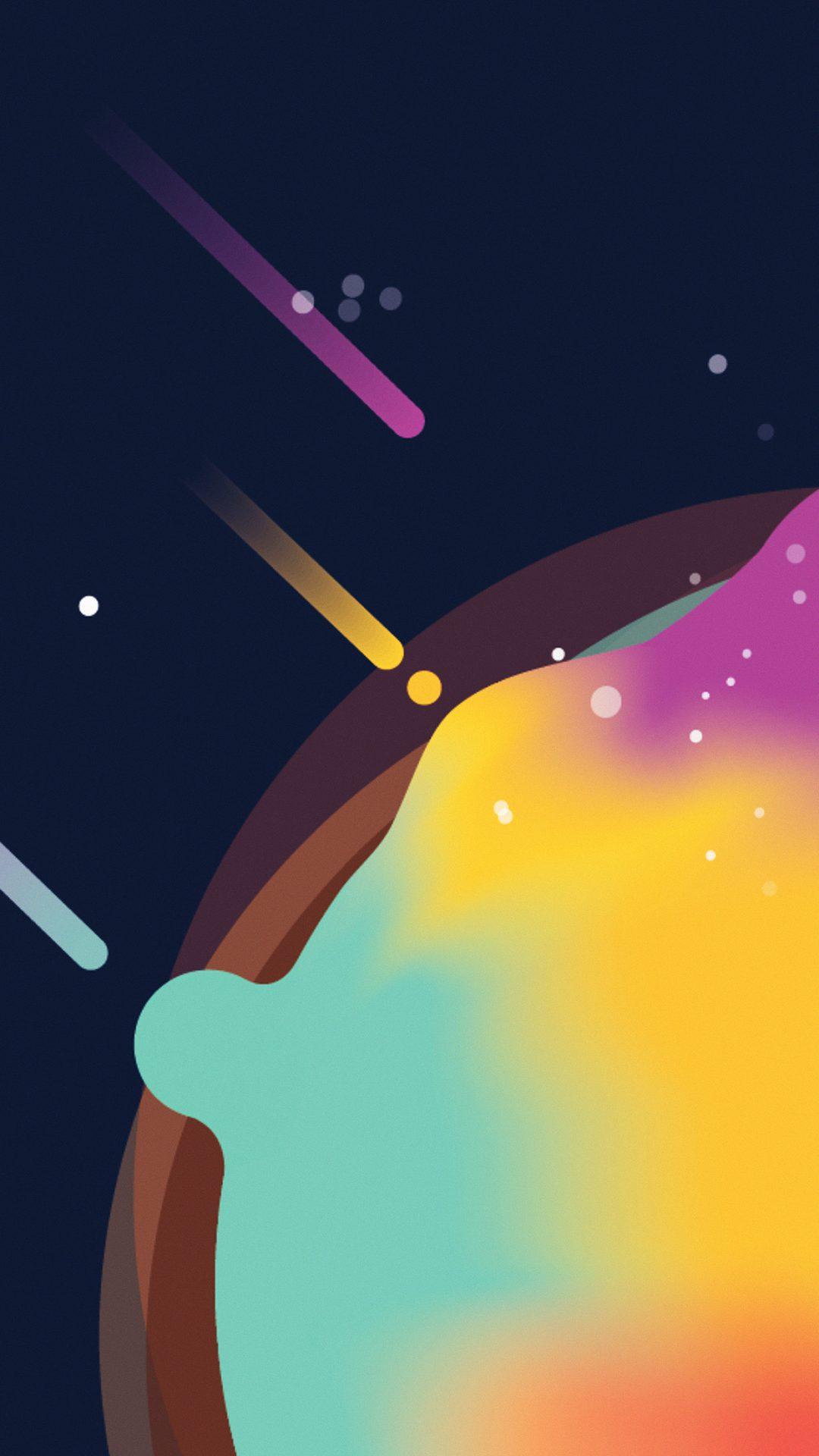 Space Simple Minimal Graphic Illustration Art