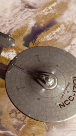 Starship Enterprise Space Art Illust
