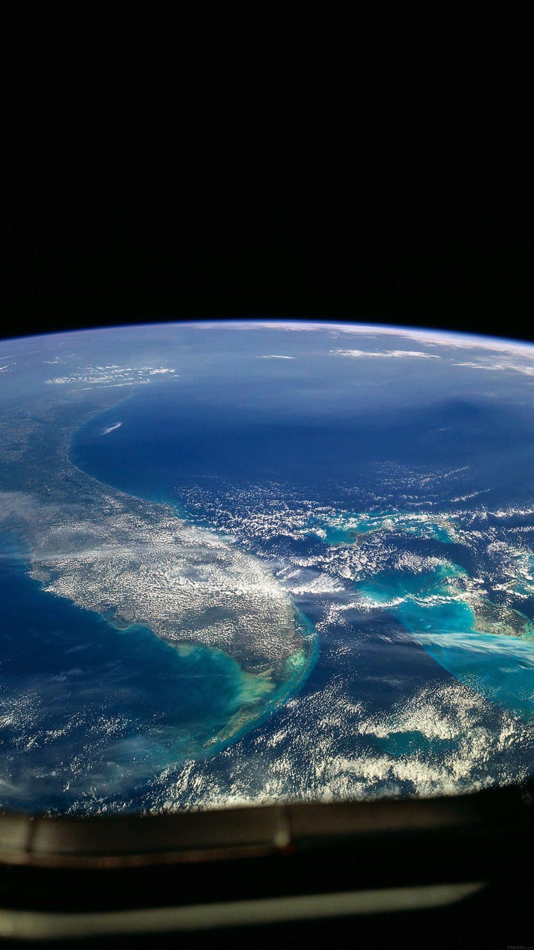 Wallpaper Alien View Of Earth Space