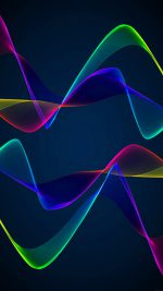 Wallpaper Android Wall Pulse Green Pattern