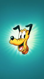 Wallpaper Disney Pluto Green Illust Animal Art