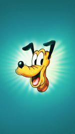 Wallpaper Disney Pluto Green Illust Animal Art